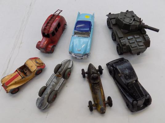 Collection of Dinky Cresent & other cars