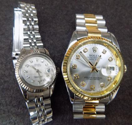 His & Hers automatic watches