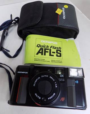 Olympus camera DX quick flash AFL-S