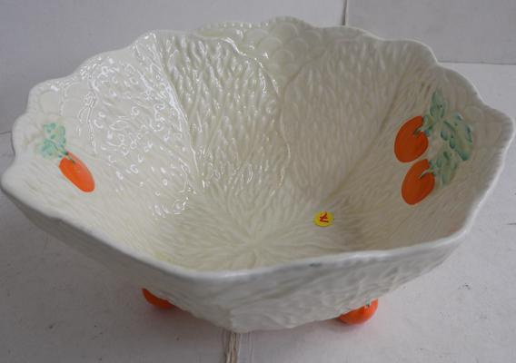 Beswick tomato footed salad bowl