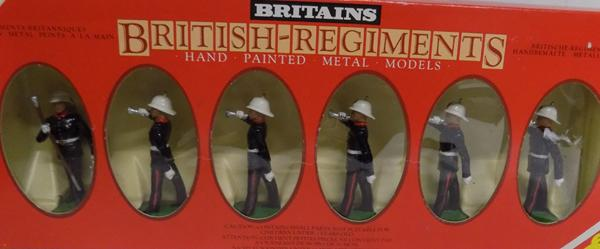 Britain's Royal Marine Buglars set of 6 figures