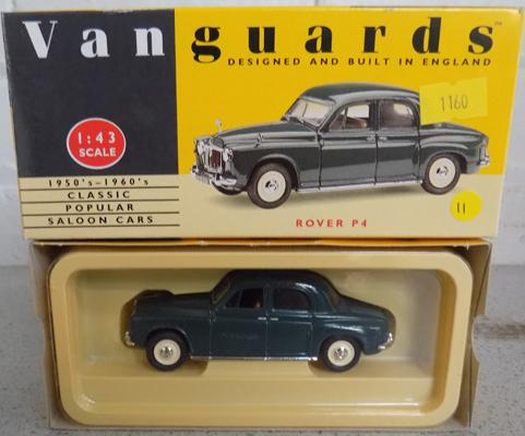 Boxed Vanguard Rover P4 no VA19003