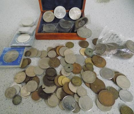 Quantity of collectable coins