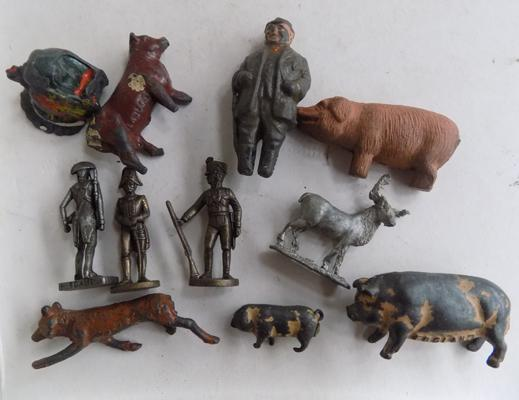 Small selection of lead figures
