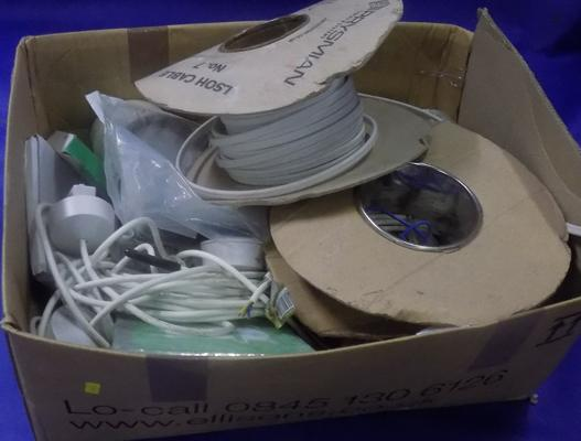 Box of electrical wire