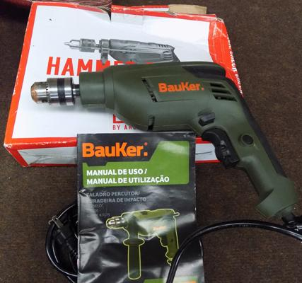Bauker hammer drill in box
