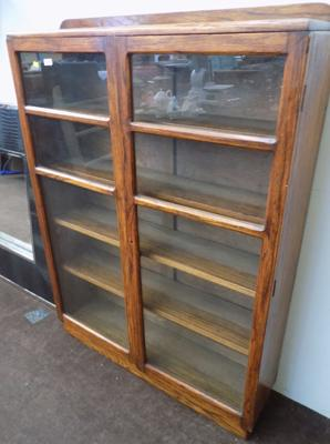 Glass fronted display case