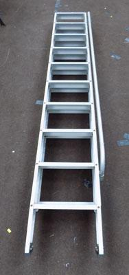 Set of loft ladders