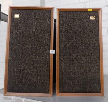 2x Wharfedale speakers