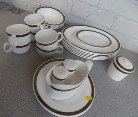 Part Royal Doulton dinner service-no damage