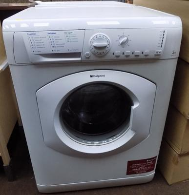 Hotpoint washing machine (as seen)
