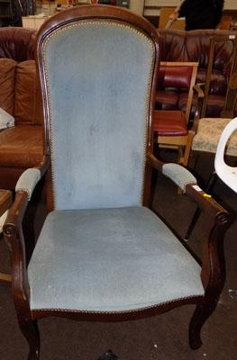 Vintage large bedroom chair