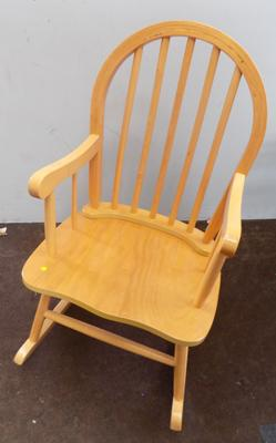 Rocking chair suitable for child or doll