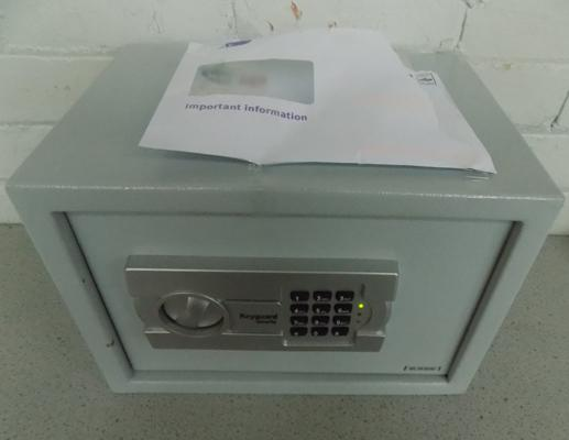 Key guard security safe - keys in the office