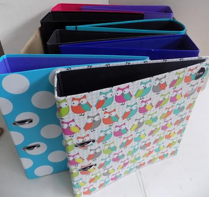 Box of file folders