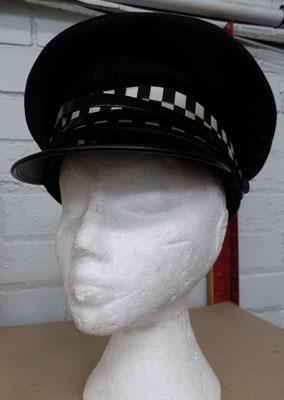 Fancy dress Police PC hat