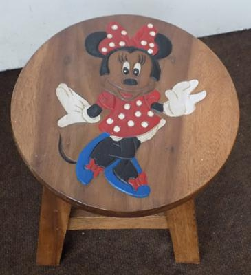 Minnie mouse small stool