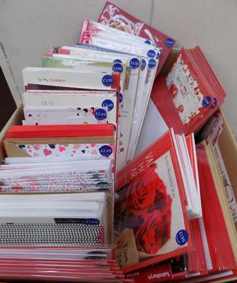 Box of Valentine cards