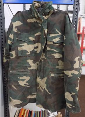 Small size army coat