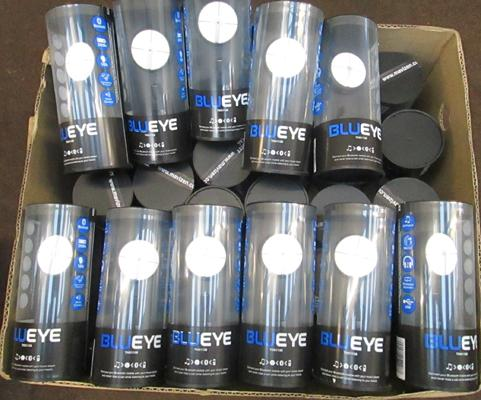 Box of Blue/Eye earphones (Mavizen)