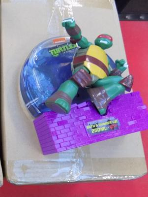 8x Turtles Raphael bath gel