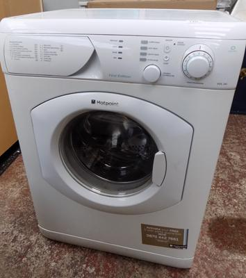 Hotpoint 1400 spin washing machine W/O