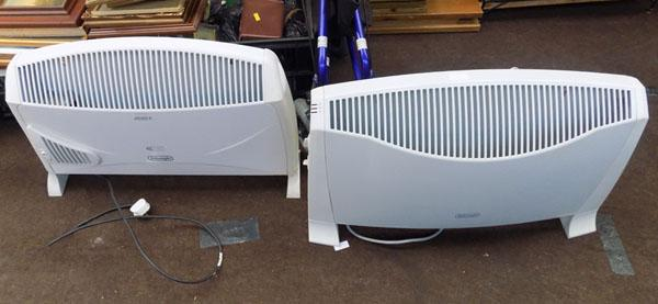 2x Delonghi heaters (1 requires plug re doing)