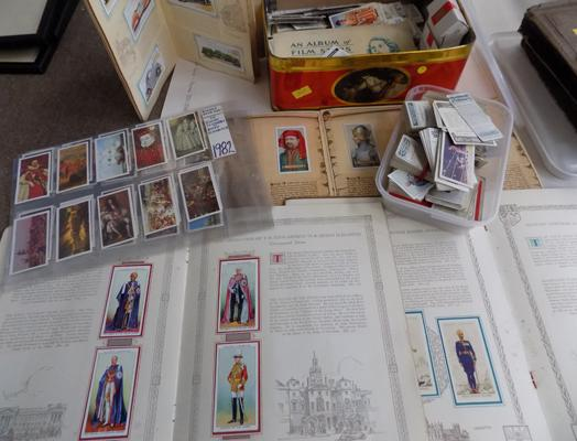 Selection of cigarette cards pre 1940's