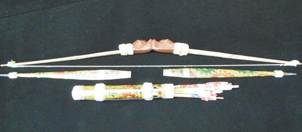 Bow & quiver with arrows