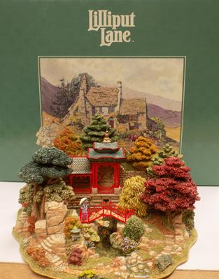 Lilliput lane reflections of Jade Ltd Edition boxed & certificate