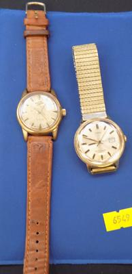 Timex gents watch and an Enicaa watch