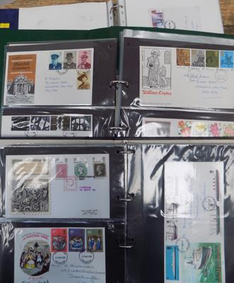 3x Albums of first day covers