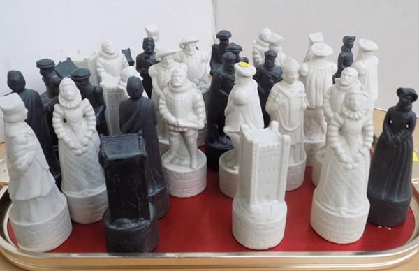 35x Wade Beneagles chess pieces