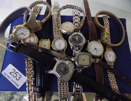 Collection of 12 watches - Rotary, Avia