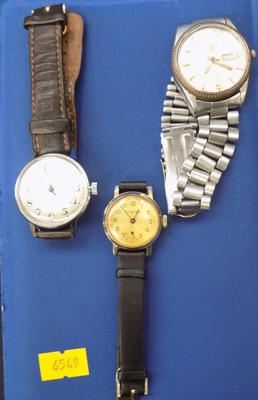 3 watches incl. Ricoh