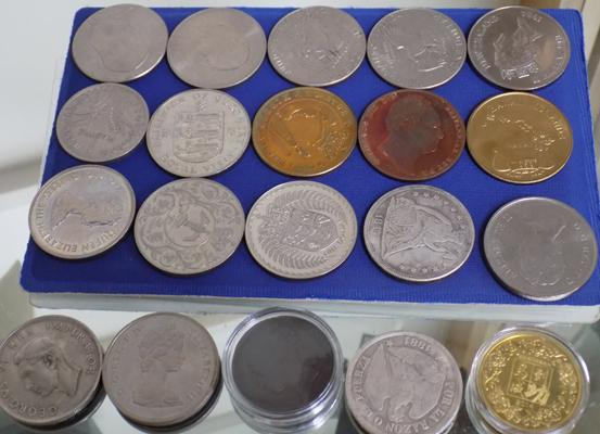 Tray of mixed collectors coins inc proof