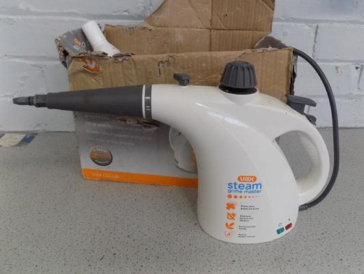 Vax steam cleaner W/O