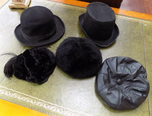 Selection of vintage hats