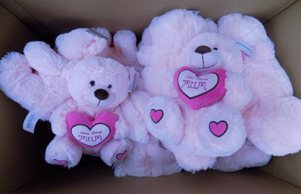18 Mother's Day teddies- new