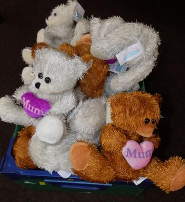 20 Mother's Day teddies- new