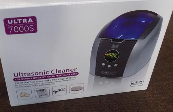 New & Boxed ultrasonic cleaner