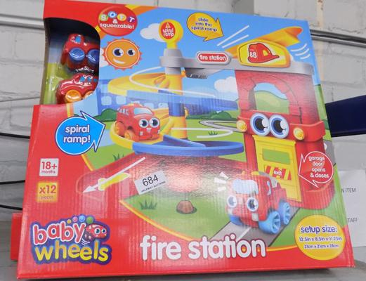 Five new fire station sets