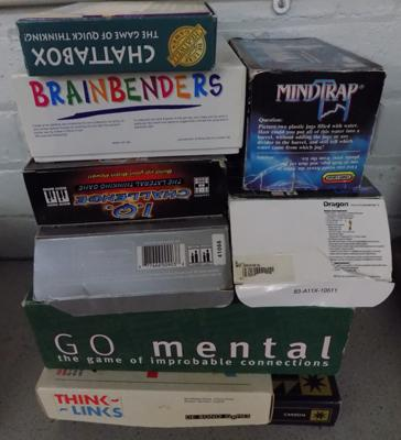 Selection of Brain teaser games