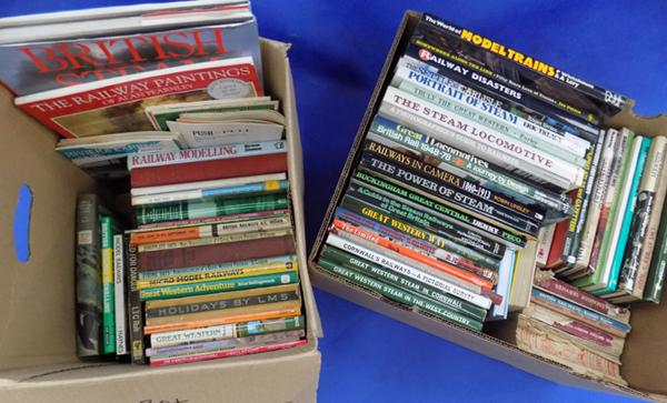 2 boxes (30+) really heavy books