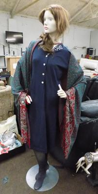 Full size mannequin with clothes
