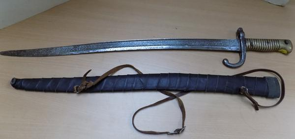 French Bayonet in sheath circa.1870
