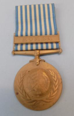 UN Korea medal 1902 bar