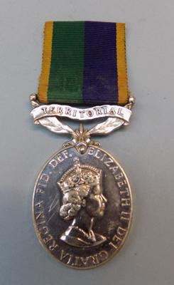 Efficiency medal-territorial