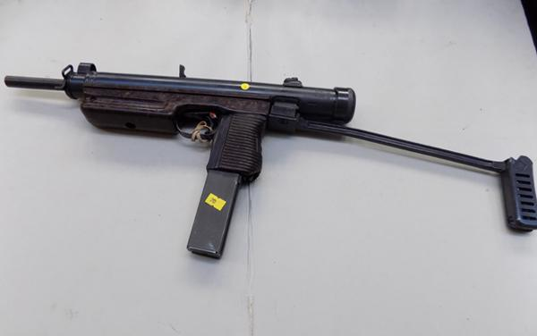 Czech 26 sub machine gun- with 2016 de-activation certificate