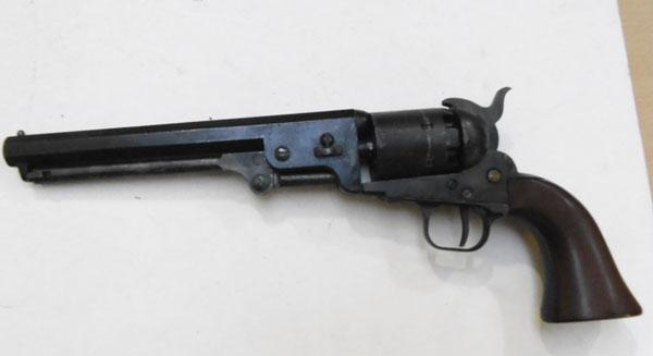 Realistic replica Colt c1860 all black